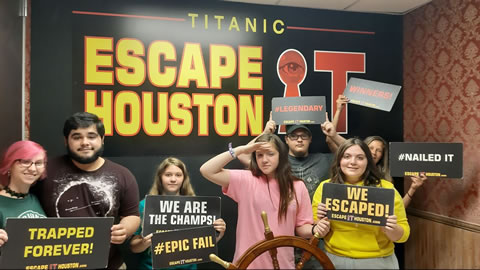 The Salty Pretzels played Escape the Titanic on Jun, 21, 2019