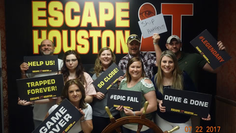 WooBarnColes played Escape the Titanic on Jul, 22, 2017