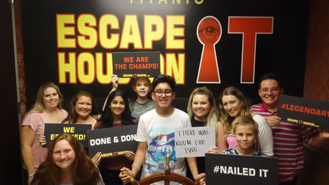 There was room for two played Escape the Titanic on Jul, 23, 2017