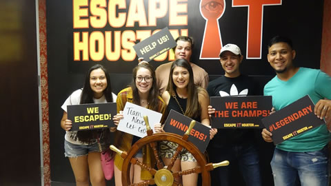 Team Never Let Go played Escape the Titanic on Jul, 31, 2017