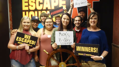 Meg's bday voyage played Escape the Titanic on Aug, 2, 2017