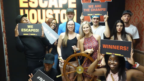 The Ballers played Escape the Titanic on Aug, 19, 2017