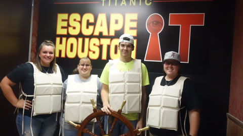 Dirty Thirty played Escape the Titanic on Sep, 30, 2017