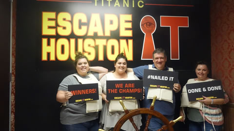 Nautical Witches played Escape the Titanic on Oct, 7, 2017