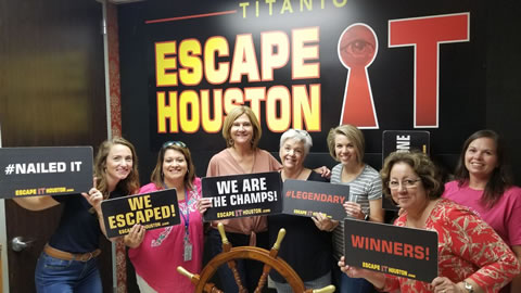 I'll Never Let Go! played Escape the Titanic on Jul, 31, 2019