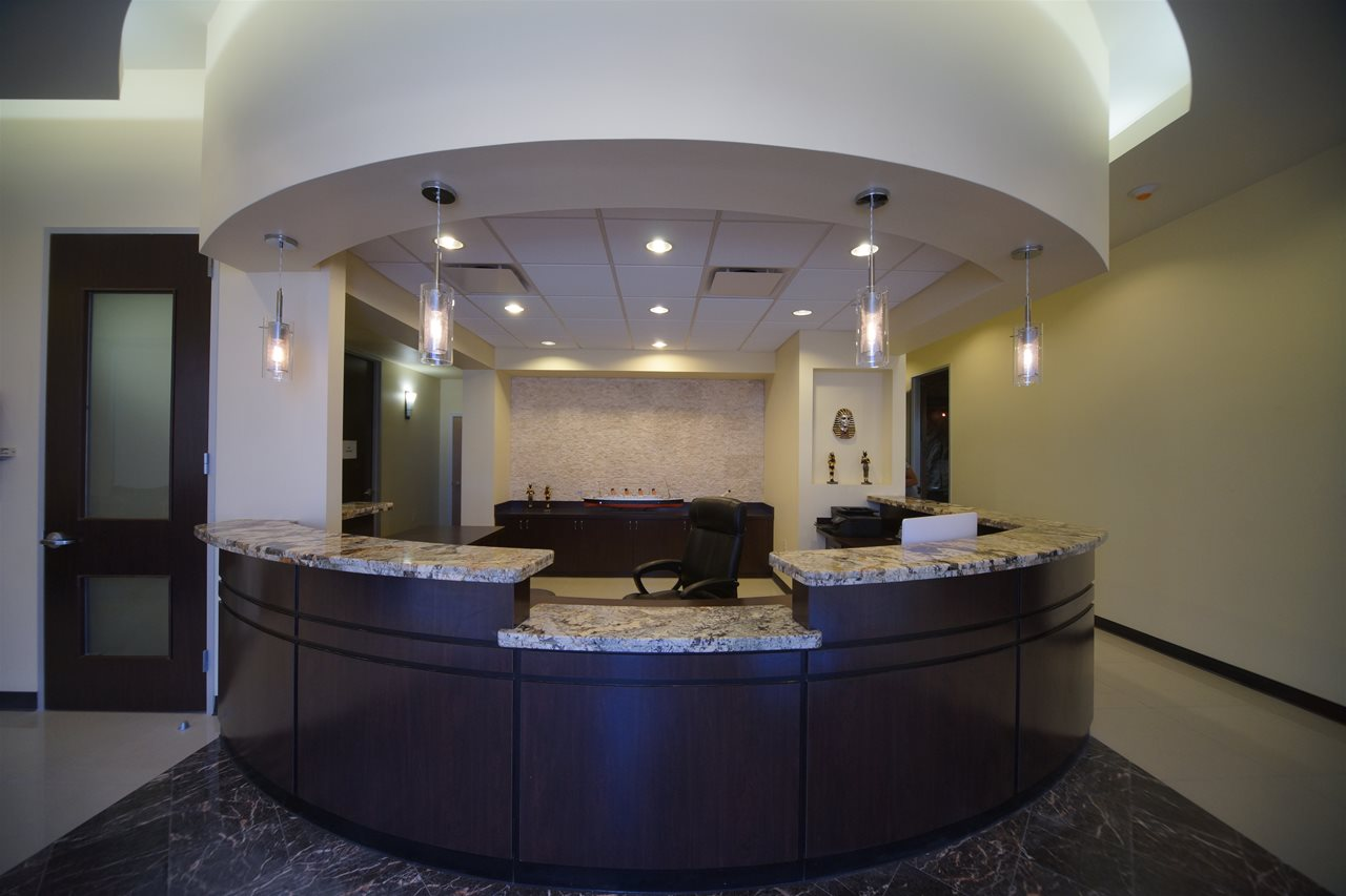 Front Desk and Check In at Escape It Houston